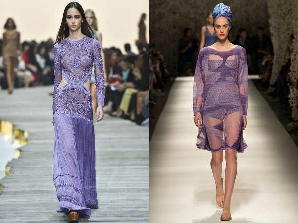 Модный фиолетовый цвет весна-лето 2015