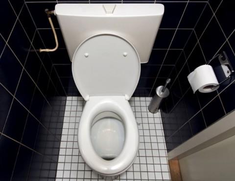 Дизайн маленького туалета!