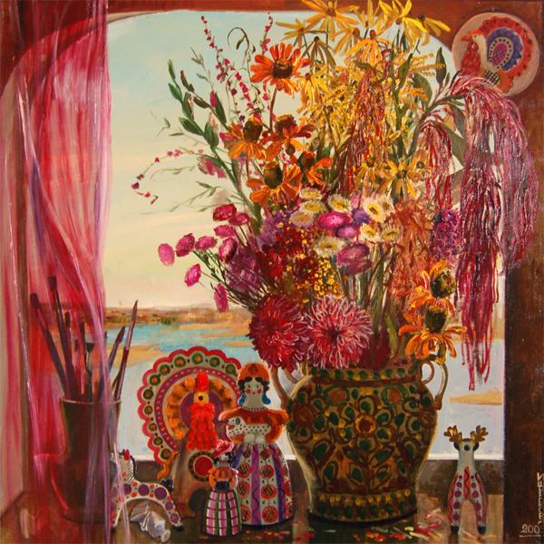 Широкова И.А. Моё окно. 2009г.