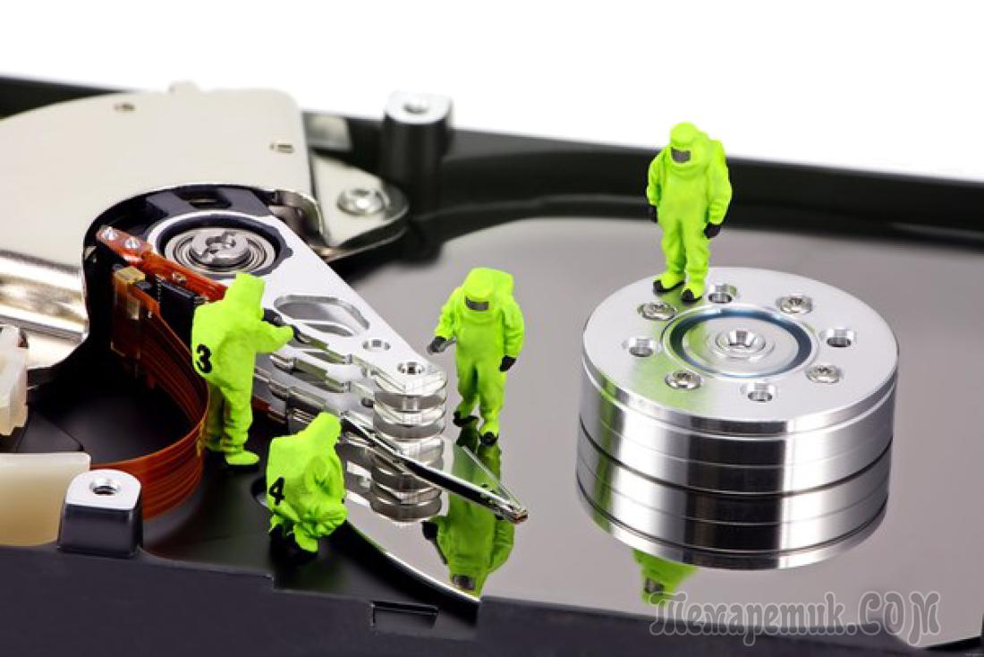 Програмку для форматирование твердого диска windows 7
