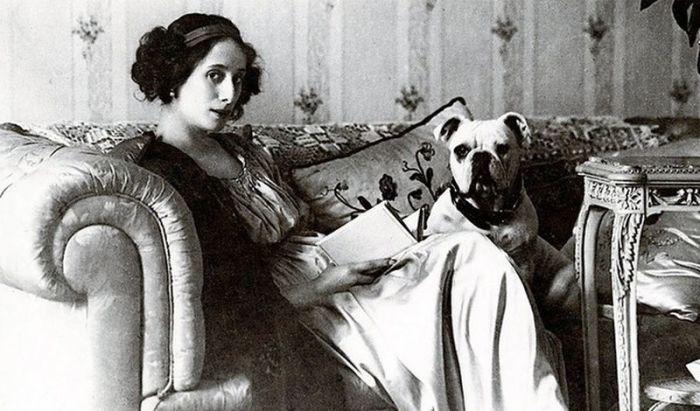 Балерина безумно любила животных.