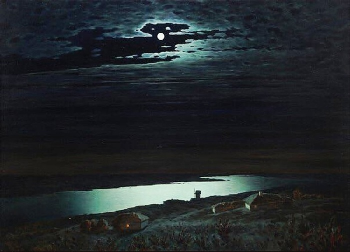 «Лунная ночь на Днепре».