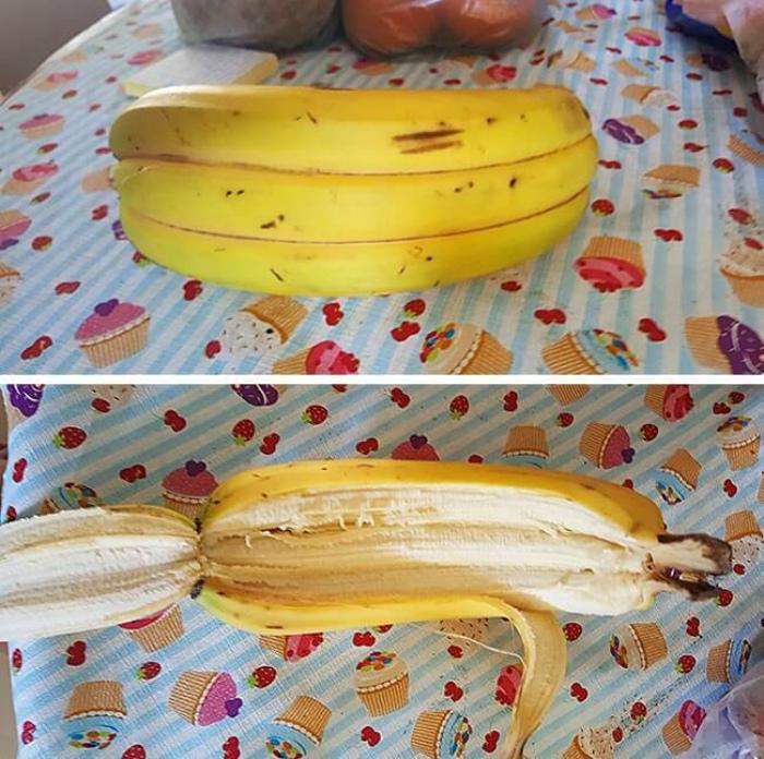 Тройной банан.