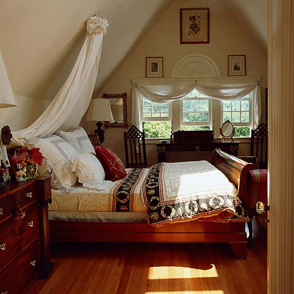 Пример классической спальни