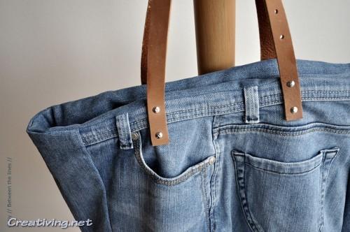 Сумки. Переделки старых джинсов своими руками_creativing.net