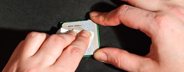 Как почистить процессор