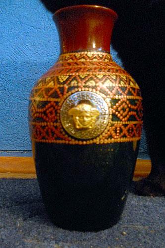 Декорирование вазочки
