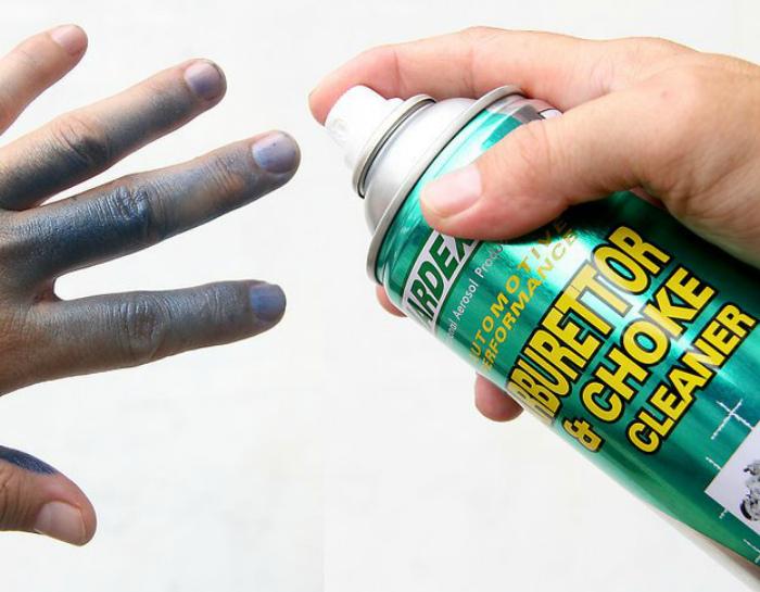 Защита рук от краски.
