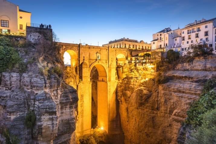 Ронда, Испания Сказочно, города, красиво, места, мир, пейзаж, планета, фото