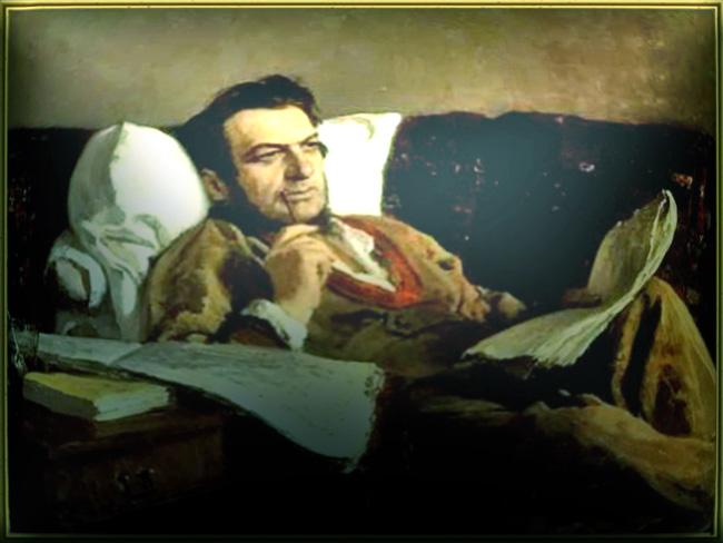 Портрет М.И. Глинки