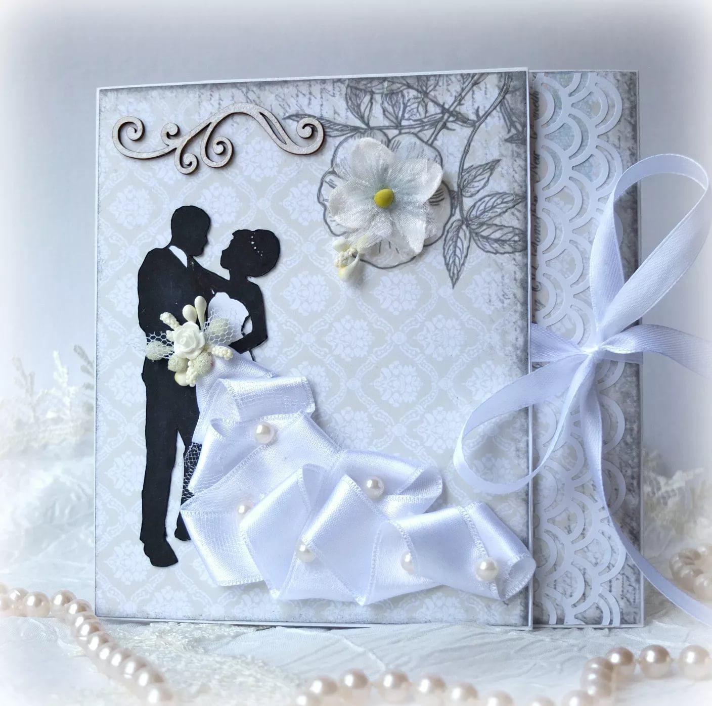 открытка на свадьбу своими руками скрапбукинг это уже него