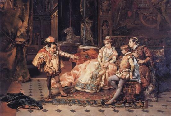художник Чезаре Аугусто Детти (Cesare Auguste Detti) картины – 02
