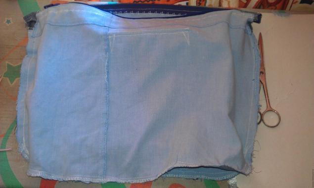 Модная сумка из старых джинсов, фото № 27