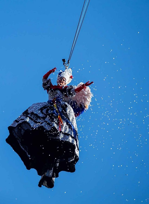 Открытие знаменитого венецианского карнавала.