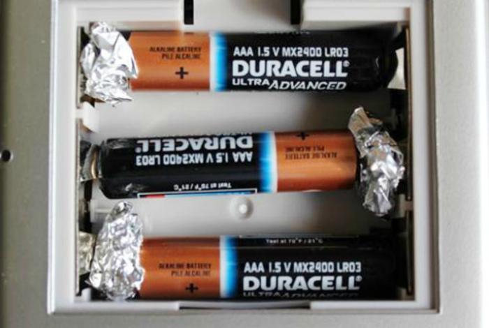 Универсальные батарейки для пульта.