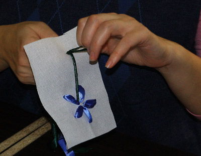 мастер класс объемная вышивка
