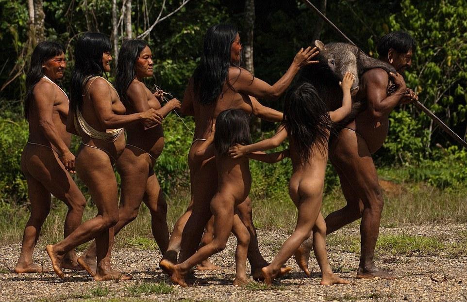 Реальные порно фильмы в первобытных племенах