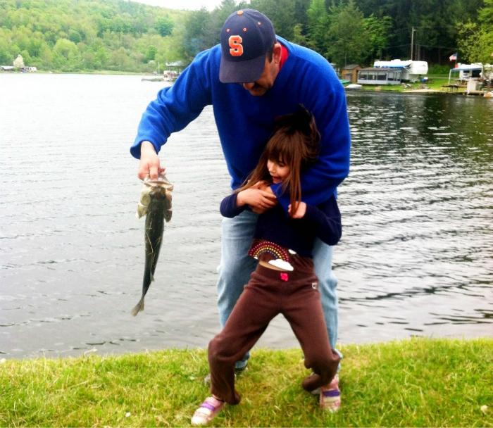 Веселая рыбалка.