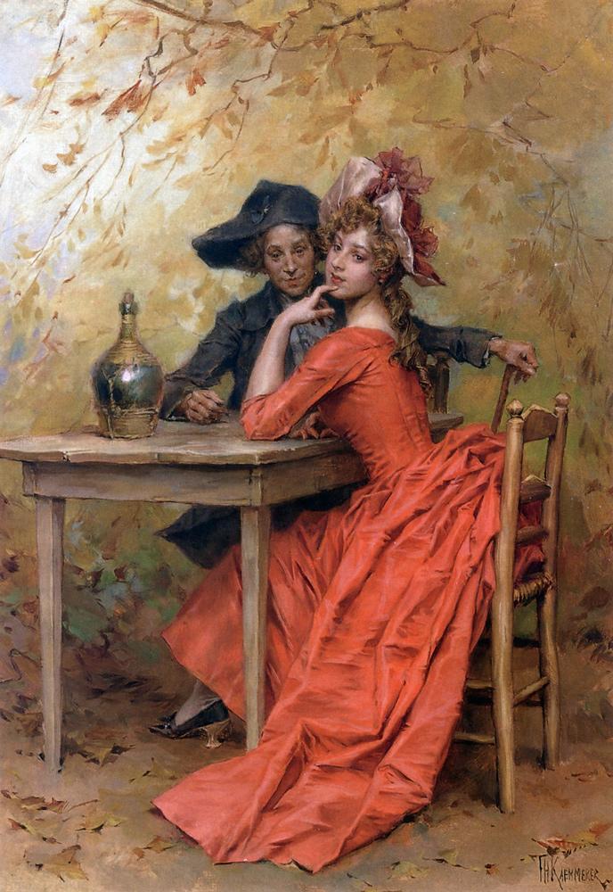 13 Kaemmerer, Frederick Hendrik A Flirtation