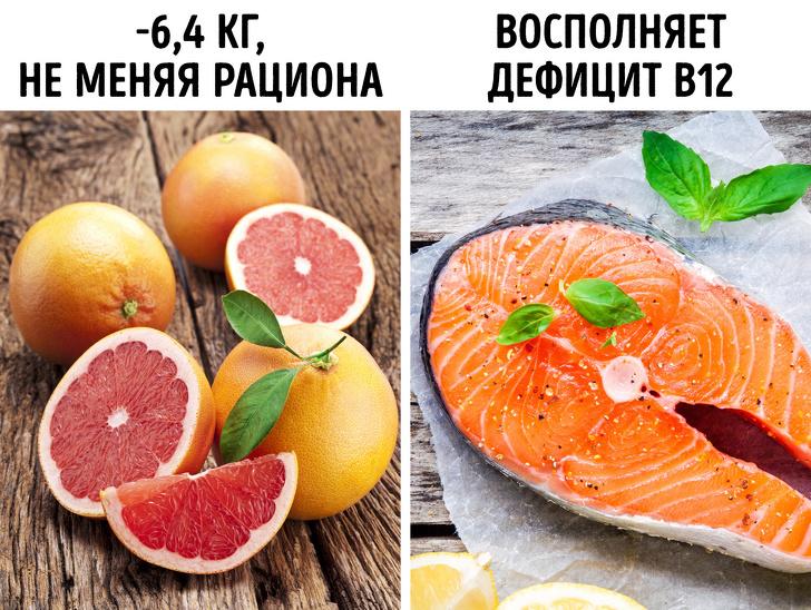 7 пар продуктов, которые помогут сбросить лишний вес