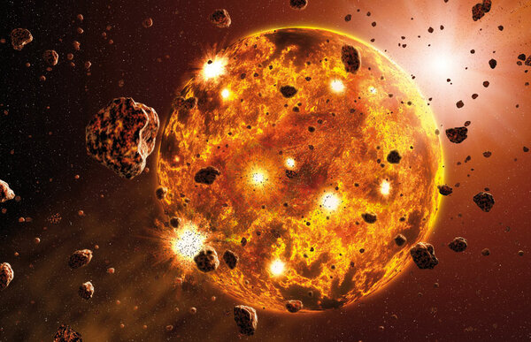Внутреннее и внешнее ядро Земли, как все устроенно? (8 фото)