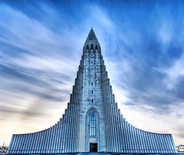 Лютеранская церковь, Рейкьявик, Исландия