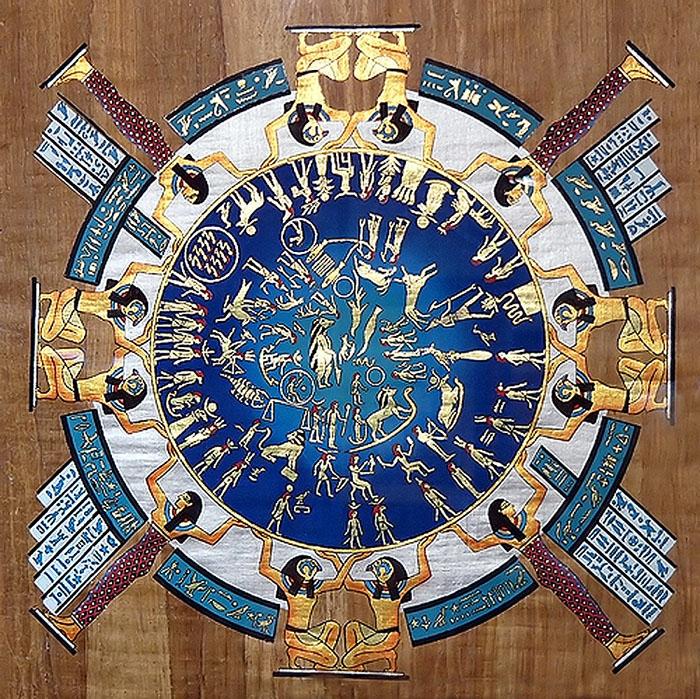 Древнеегипетский календарь.