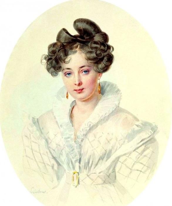 Фрейлина, метресса императора Павла I.