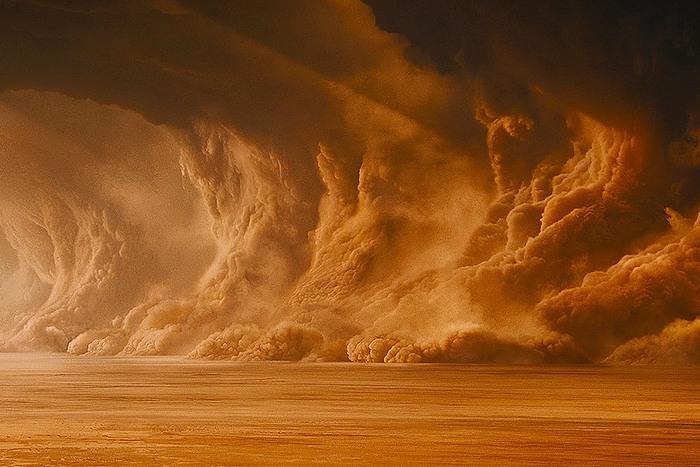 Солнечная система: пылевые бури Марса.