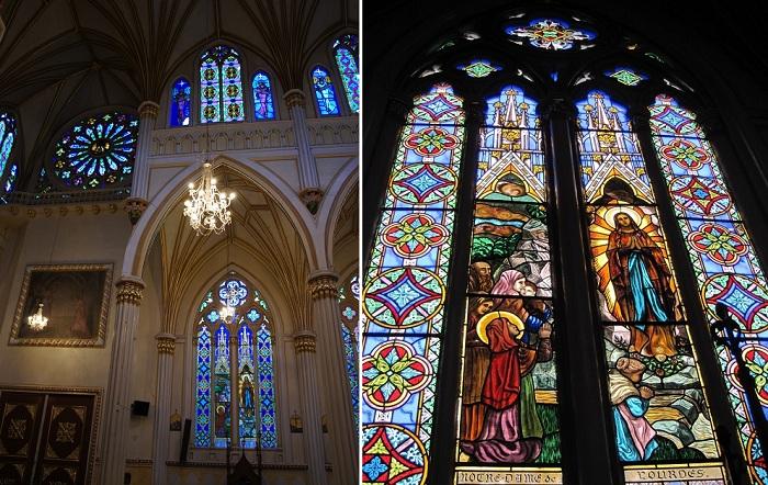 Величественный интерьер церкви.