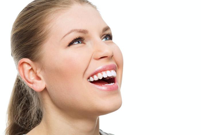 Здоровые зубы с имбирем