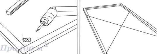 Раздвижные шторы своими руками