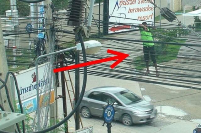 Люди, незнакомые с техникой безопасности (41 фото)