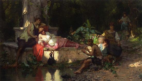 художник Чезаре Аугусто Детти (Cesare Auguste Detti) картины – 14