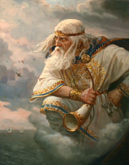 Стрибог - хозяин ветров. Автор: Андрей Шишкин.