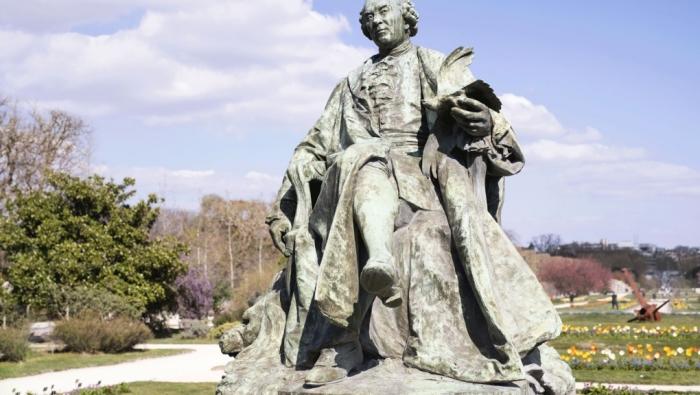 Памятник Жоржу-Луи Леклерка. \ Фото: jardindesplantesdeparis.fr.