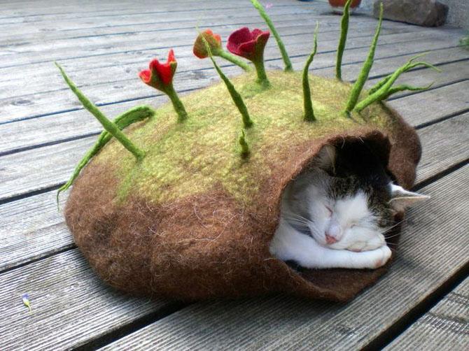 Эко-домики для кошек