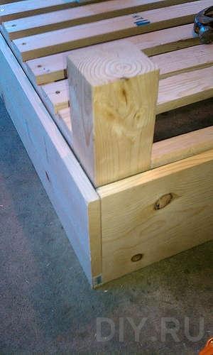 мебель своими руками кровать