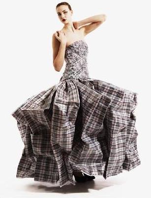 платье из старых сумок