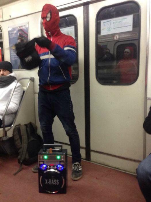 Человек-паук.