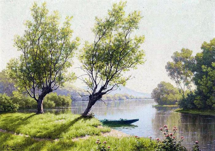 художник René Charles Edmond His картины -2-04