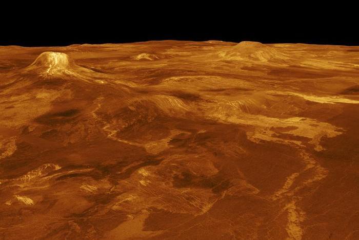 Солнечная система: вулканы Венеры.