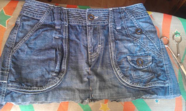 Модная сумка из старых джинсов, фото № 3
