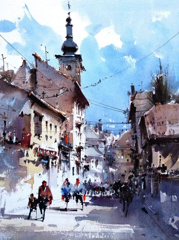 """Бухарест.Улица"""