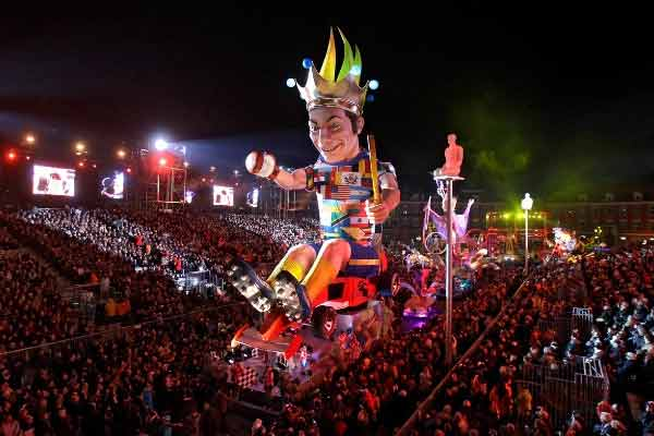 Карнавал в Ницце, Франция