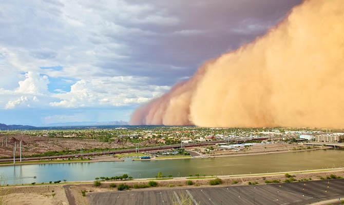 Буря в Пустыне, Интересные факты о Пустыне
