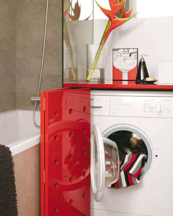 Идея стиральная машина ванная
