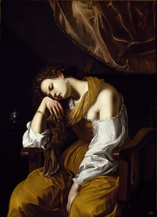 «Магдалина как аллегория меланхолии» (1621)