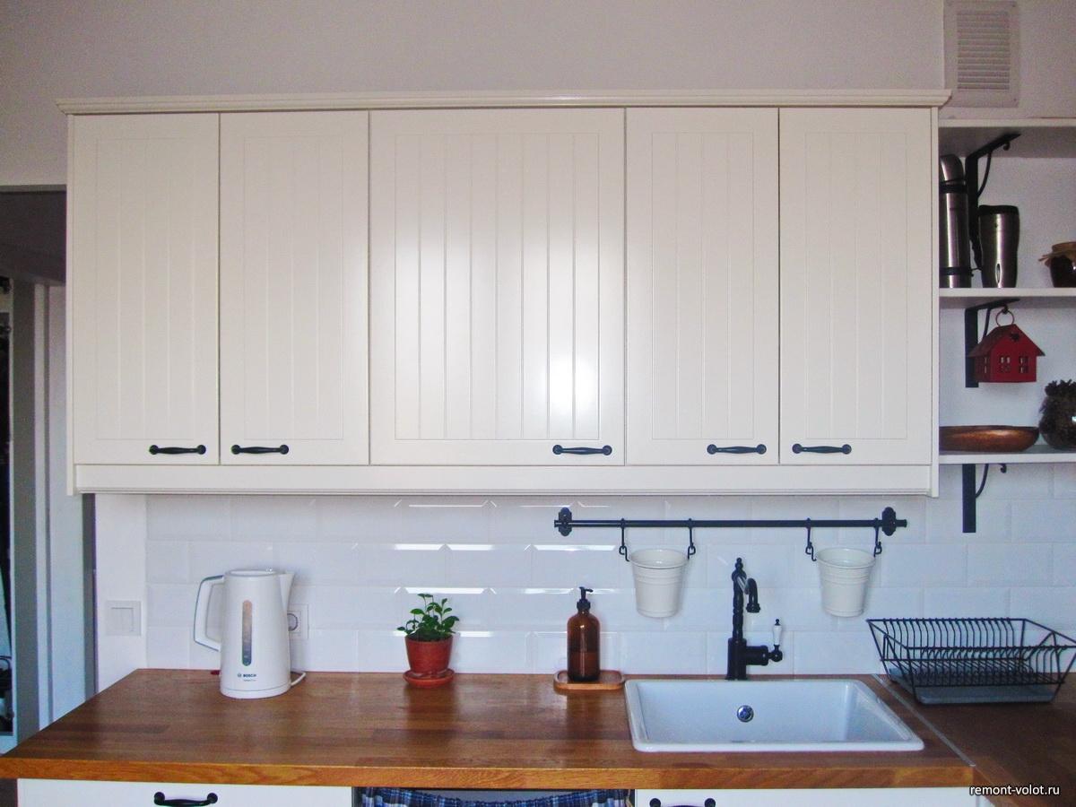 Белая кухня икеа