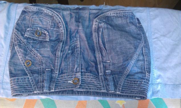 Модная сумка из старых джинсов, фото № 11
